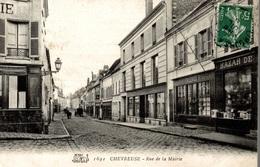 CPA Chevreuse Rue De La Mairie - Chevreuse