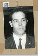 Photo Originale .  Le Général AHMED DLIMI  Bras Droit Du Roi HASSAN II  Du  MAROC  En 1983 - Guerre, Militaire