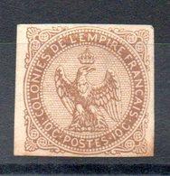 COLONIES GENERALES - Aigle Impérial YT N° 3 - Cote: 10,00 € - Aigle Impérial