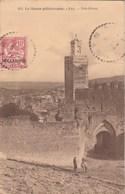 Maroc Yvert 12 Cachet Perlé Recette Distribution FEZ 3/8/1911 Sur Carte Postale Bab Ghissa Pour Paris - Storia Postale