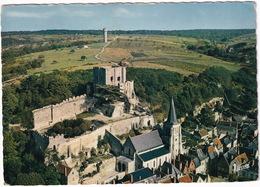 Montrichard - L'église Sainte-Croix Et Le Donjon , Vus D'avion - (Loire-et-Cher) - Montrichard