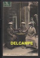 DD / MÉTIERS / PARIS MODERNE / LES FEMMES COCHERS : LE COUP DE L' ÉTRIER / 1907 - Métiers