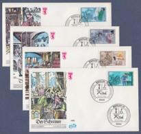 Berlin FDC 1986 - MiNr. 754-757 - Für Die Jugend - Handwerksberufe (E) - FDC: Briefe