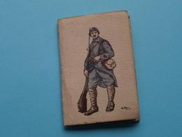 1917 ( Militair ) Petit Calendrier / Agenda ( Edit. ? > Zie/voir Photo Pour/voor Detail ) Complet ! - Calendriers