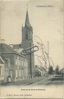 Putte   Hollandsch : Zicht Op De Kerk En Pastorij -HOELEN Kapellen 63 BRIEFKAART ( Geschreven Met Zegel 1 Cent België ) - België