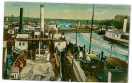 SER 6 - 7047 ZEMUN, Belgrad, Serbia, Ships - Old Postcard, CENSOR - Used - 1918 - Serbia