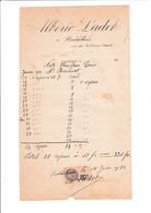 34-A.Ladet...Pardailhan. Par St-Chinian.(Hérault)..190? - Petits Métiers