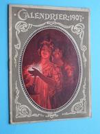 CALENDRIER 1907 > Petites Causes, Grands Effets > PHARMA ( Imp. M. Weissenbruch > Zie Foto Voor Detail ) Compleet ! - Calendriers