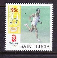 ST. LUCIA, USED STAMP, OBLITERÉ, SELLO USADO. - St.Lucia (1979-...)