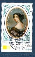 France 2019.Madame De Maintenon.Cachet Rond Gomme D'Origine. - Frankreich