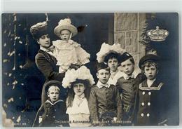 53029025 - Koenigin Alexandra Mit Kindern - Familles Royales