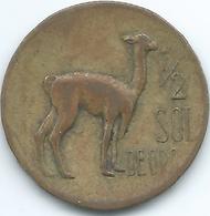 Peru - 1966 - ½ Sol De Oro - KM247 - Peru
