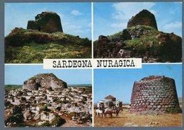 °°° Cartolina N. 106 Sardegna Nauragica Vedutine Viaggiata °°° - Nuoro