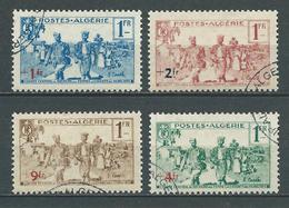 ALGERIE 1939 . Série N°s 159 à 162 . Oblitérés. - Algérie (1924-1962)