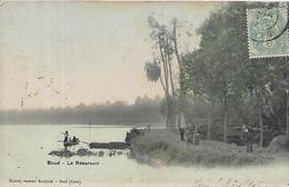 02, Aisne, BOUE, Le Réservoir,animations, Scan Recto-Verso - France