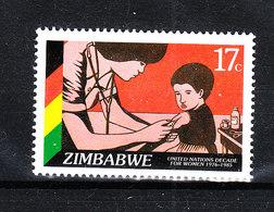 Zimbabwe - 1985. Vaccinazione Infantile, Infermiera. Childhood Vaccination, Nurse. MNH - Medicina