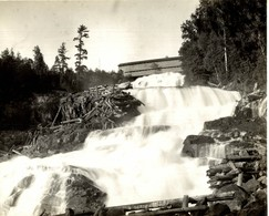 La Bostonnais Mauricie QUÉBEC BOIS   USINE Canada  23*18CM Fonds Victor FORBIN 1864-1947 - Beroepen