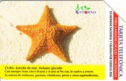 CUBA(Urmet) - Starfish, 01/03, Used - Cuba