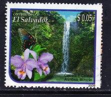 EL SALVADOR, USED STAMP, OBLITERÉ, SELLO USADO. - El Salvador