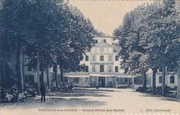 04 / GREOUX / GRAND HOTEL DES BAINS / JOLIE CARTE - Gréoux-les-Bains