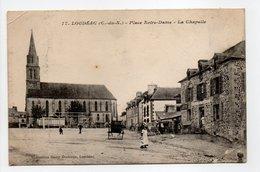 - CPA LOUDÉAC (22) - Place Notre-Dame - La Chapelle (avec Personnages) - Collection Bazar Moderne N° 17 - - Loudéac