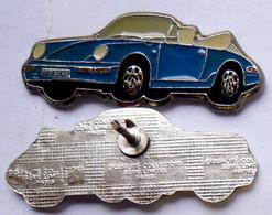 Pin's Série Limitée Voiture PORSCHE 911 Décapotable - Porsche