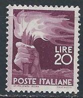 Italie YT 499 XX / MNH - 1944-46 Lieutenance & Humbert II