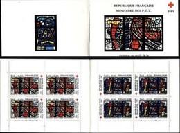 FR 1981 Carnet Croix Rouge 1981, FRANCE, BOOKLET , MNH - Ungebraucht
