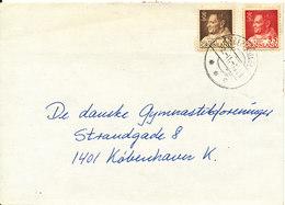 Greenland Cover Sent To Denmark Egedesminde 2-11-1968 - Groenland