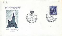 "L-Luxembourg 19965 - Diekirch ""Expo Phil./Congrès FSPL"" (7.117) - Lettres & Documents"