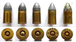 CARTOUCHES ANCIENNES 11MM MLE 1873 - Militaria