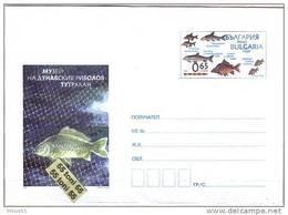 2011  Fisheries Museum Of The Danube – Tutrakan  Postal Stationery Bulgaria / Bulgarie - Entiers Postaux