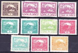 * Tchécoslovaquie 1918 Mi 18 Ex (Yv 1 Ex), (MH) - Neufs
