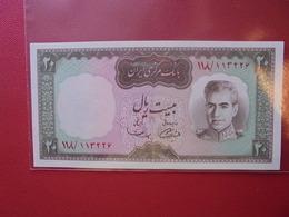 IRAN 20 RIALS 1969 PEU CIRCULER/NEUF - Iran