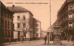 (112)  CPA  Mainz  Mayence  Schillerstrasse Caserne Castelnau - Mainz
