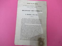 Fascicule/Botanique/Drainage Des Terres/ THACKERAY/Produits De L'Agriculture Et De L'Industrie Exposés En 1849     MDP96 - Libri, Riviste, Fumetti