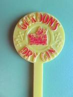 230 - Touilleur - Agitateur - Mélangeur à Boisson - Alcool - Gordon's - Dry Gin - Swizzle Sticks