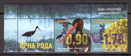 BIRDS - 2016 - BOSNIA Occ. Croata -  Mi.. Nr.  679/680 - NH - (CW4755.31) - Bosnia Erzegovina