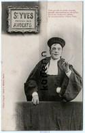 Cour De Justice - Tribunal - Juge - Avocat - St Yves - Saint Yves Patron Des Avocats - Humour