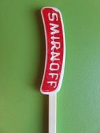 232 - Touilleur - Agitateur - Mélangeur à Boisson - Vodka - Smirnoff - Swizzle Sticks