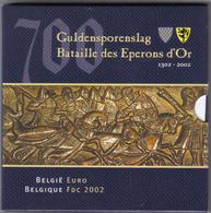 BELGIO 2002 Divisionale FDC Confezione Esterna Un Pò Rovinata OFFERTISSIMA ( Immagine Di Repertorio ) - Belgio