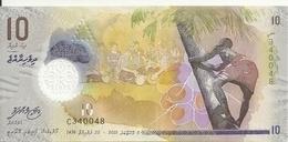 MALDIVES 10 RUFIYAA 2015 UNC P 26 - Maldiven