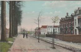 Tirlemont , Tienen ,  Boulevard Et Porte De Diest ,( KLEUR ) - Tienen