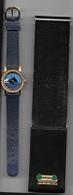 Montre  ARTHUS  BERTRAND  Bracelet  Bleu  Avec  Animaux  DAUPHINS  Sur  Le  Cadran - Joyas & Relojería