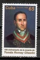 Cuba 1999 / Medicine Doctor Tomás Romay Chacón MNH Doctor / Cu11810  C2 - Nuevos