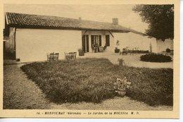 1336. CPA 33 MONFOURAT. LE JARDIN DE LA MOUSSIA VERS 1930 - France
