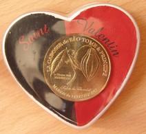 Médaille Touristique Salon Du Chocolat 2011 Dans Boitier Saint-Valentin - Monnaie De Paris