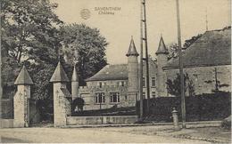Saventhem.   -   Château  -   Prachtige Kaart!  -   1919 - Zaventem