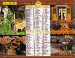 °° Calendrier Almanach La Poste 2000 Lavigne - Dépt 37 - Chalet Et Vaches En Alpage - Calendriers