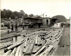 CANADIAN NACIONAL RAILWAY PHOTO Canada 23*19CM Fonds Victor FORBIN 1864-1947 - Profesiones